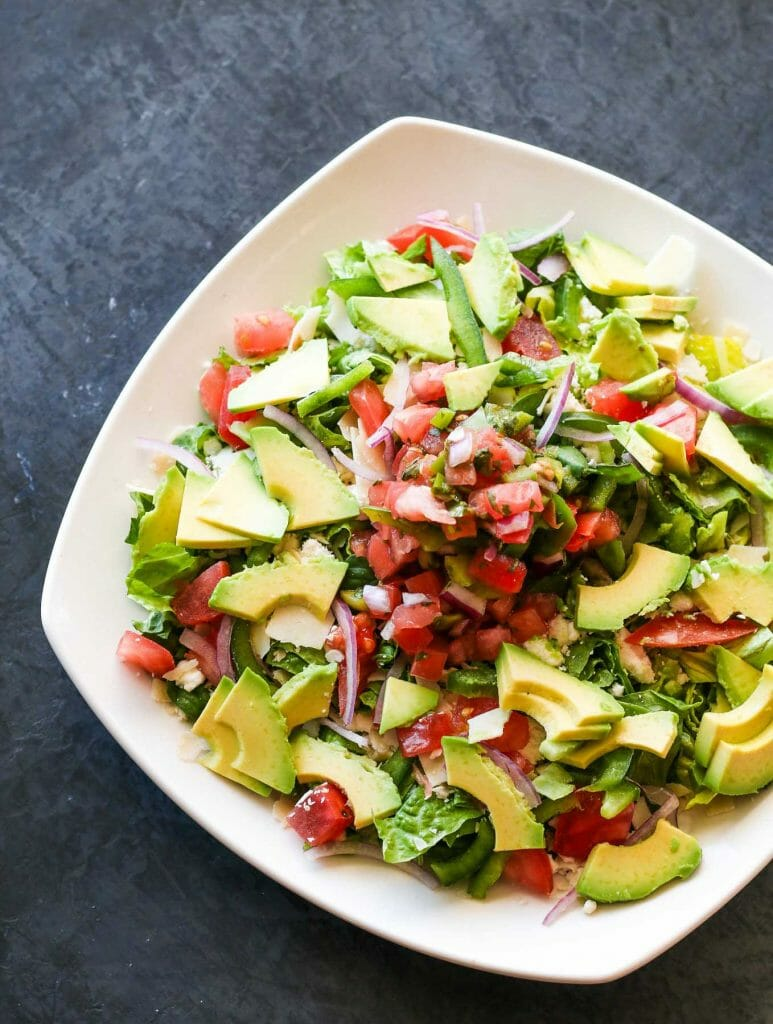 avocado salad lunch vibe virginia beach