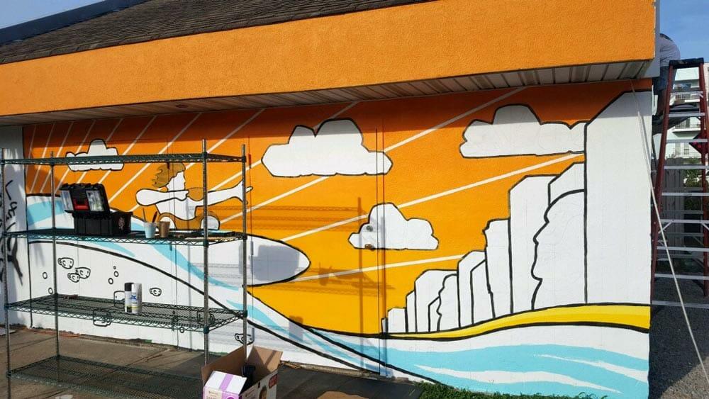 ben hamrick mural virginia beach