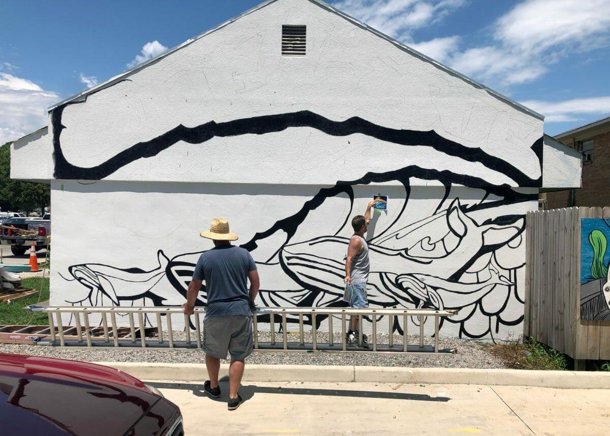 rick ricketts mural virginia beach