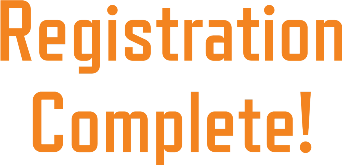 registration complete notification